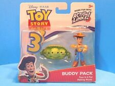 Toy Story 3 Buddy Pack Walking Woody and Peas in a Pod Action Links New!