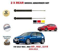 per VW GOLF 2.0 GTI 3.2 R32 2.0 R 4motion 2004-2012 2x Ammortizzatore post. Set