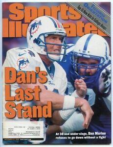 SI: Sports Illustrated December 13, 1999 Dan's Last Stand: Dan Marino, Dolphins
