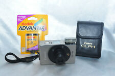 Canon Elph Aps Film Camera Tested Works With Case & Film Add Cr2 Battery