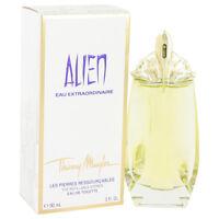 Alien Eau Extraordinaire by Thierry Mugler EDT Spray Refillable 3 oz Women NIB