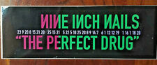 """Nine Inch Nails - The Perfect Drug STICKER 1997 9"""" x 3"""" official NEW ~ NIN"""