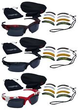 CHEX Europa Fishing Sunglasses Sports Glasses 5 Various Interchangeable Lens