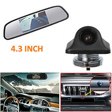 4.3 Inch LCD In-Mirror Monitor + E335 HD Car Backup Rearview Reverse Camera Kit