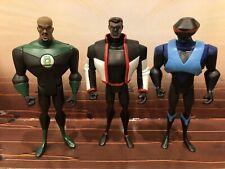 DC Universe JLU Loose Green Lantern John Stewart Devil Ray Mr. Terrific Lot