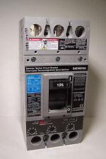 New SIEMENS FXD63B125 Circuit Breaker 3P 125A 600V w/lugs MCCB FX-TR