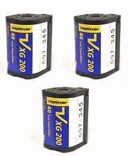 (3 Rolls) Voigtlander Aps Film Iso 200 40 Exposures Nexia Advantix Cold Stored