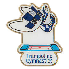 Tokyo 2020 Olympic Games official mascot pin badge Trampoline Gymnastics Japan