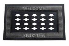 Sassafras Welcome Mat Tray Gray 18x30