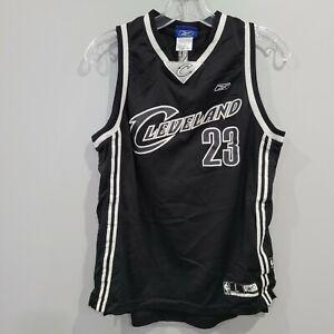 VTG Reebok Cleveland Cavaliers LeBron James 23 Alternate Jersey Youth L Sewn