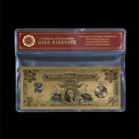 WR 1899 Series $2 Bill Two Dollar US Gold Banknote In Sleeve American Nice Gift
