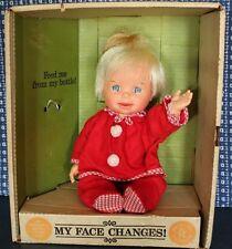VINTAGE 1965 CHEERFUL TEARFUL DOLL W/BOX BY MATTEL INC.