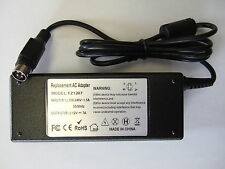 More details for replacement for linearity lad6019ab5 12v 4 pin power supply, mains adapter