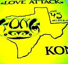"""12"""" - KONK - LOVE ATTACK (DANCE '80s) NEW, STOCK STORE - NUEVO, STOCK DE TIENDA"""
