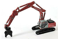New Holland E245 Extended Grab (Nips) 1/87th Scale Red/Grey/Black Tracked48 Post