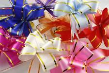 WHOLESALE A Lot Shiny Pull Flower Ribbons Gift Wraps