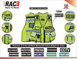 Tactical Vest Security,  Dog Handler DOORMAN, Enforcement Tac Vest