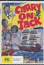 CARRY ON JACK - Kenneth Williams, Charles Hawtrey, Bernard Cribbins - DVD -  NEW