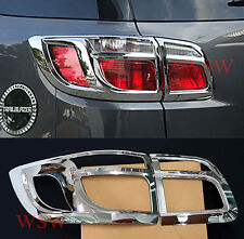 CHROME REAR TAIL LIGHT LAMP SURROUND COVER TRIM FOR CHEVROLET HOLDEN COLORADO 7
