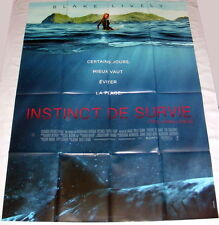 THE SHALLOWS Blake Lively Surf shark Jaume Collet-Serra LARGE French POSTER