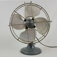 Vintage Polar Cub Table Fan 1950s Model P4370 Works 13 Inches Tall