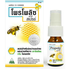 Propoliz Mouth Spray Mouth and Throat Spray with Brazilian Green Propolis 15ml