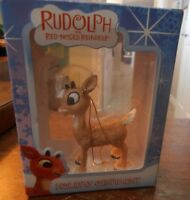 Rudolph the Red Nosed Reindeer Ornament in Original Box  No Breaks or Chips