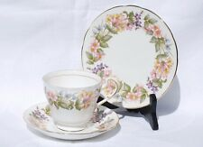 "Paragon ""Country Lane"" Cup, Saucer & Plate Trio. 2 sets available."