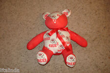 VINTAGE  COLLECTOR PLUSH STUFFED BEAR SAN FRANCISCO 49ERS PRE OWNED