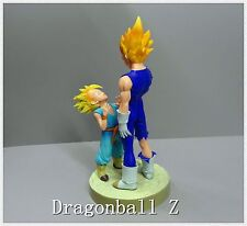 "BP DragonBall Z DBZ SS VEGETA AND SS TRUNKS PVC Figure LOOSE 5""- 8"""