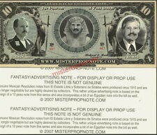 10 PESOS FANTASY ART ADVERTISING NOTE FOR MISTERPROPNOTE BY F-T-C-GRAFIX - NEW!