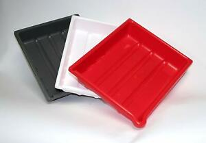 """Set of 3 Darkroom Developing Trays for 7x5"""" (18x13cm) Prints or Film. Dishes."""