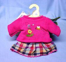Heless Puppenkleidung, Rock u. Pullover für 35 - 45 cm große Puppen