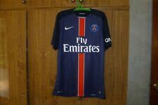 PSG Paris Saint-Germain Football France Shirt 2015/2016 Nike Home Soccer Size M