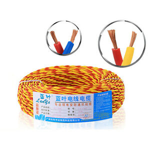2 Core Extension Flex Cable Twisted Electric Wire,Home Lighting Lamp LED Wire