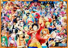 One Piece Collage All Characters POSTER Large Rare Luffy Pirate King Manga