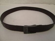 - AUTHENTIQUE  ceinture  OLLY GAN  cuir  (T)BEG  vintage