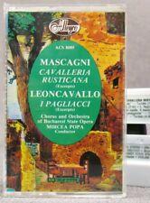 Excerpts: I PAGLIACCI & CAVALLERIA RUSTICANA-Bucharest State Opera VG to EX