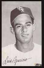 1947-66 Exhibit Supply Co -LUIS APARICIO -Portrait (Chicago White Sox) *HOF*