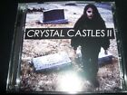 Crystal Castles II Official Big Day Out Edition Australian Tour 2 CD - Like New