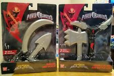 Power Rangers Super Ninja Steel Dagger and Sickle & Double Blade and Battle Axe