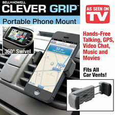Bell+Howell Clever Grip Air Vent Cell Phone Holder As Seen On TV