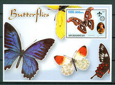 Afghanistan 2001, Scouts, Butterflies, S/Sheets, MNH 403