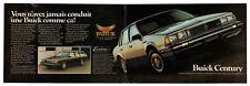 1985 BUICK Century Vintage Original centerfold Print AD Sedan & Wagon photo CA