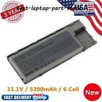 Battery for Dell Latitude D620 D630 D630N D631 D640 M2300 0JD605 Power Supply US