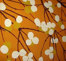 Marimekko Finland Lumimarja pillow case cushion cover mustard satin Finland 16""
