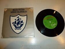 """MIKE OLDFIELD - Blue Peter - 1979 UK 7"""" injection moulded vinyl single"""
