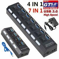 Type C Mircro USB 3.0 High Speed Multifunction Contactor Universal OTG TF SD Intergace 4 in 1 Reader
