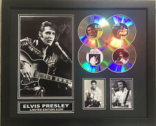 ELVIS PRESLEY SIGNED LIMITED EDITION FRAMED MEMORABILIA