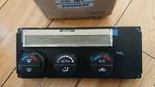 Nissan Navara D40, Climate control panel, new genuine part. Early high spec.